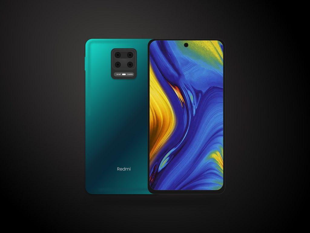 Imagem mostra um celular Xiaomi em um fundo escuro.