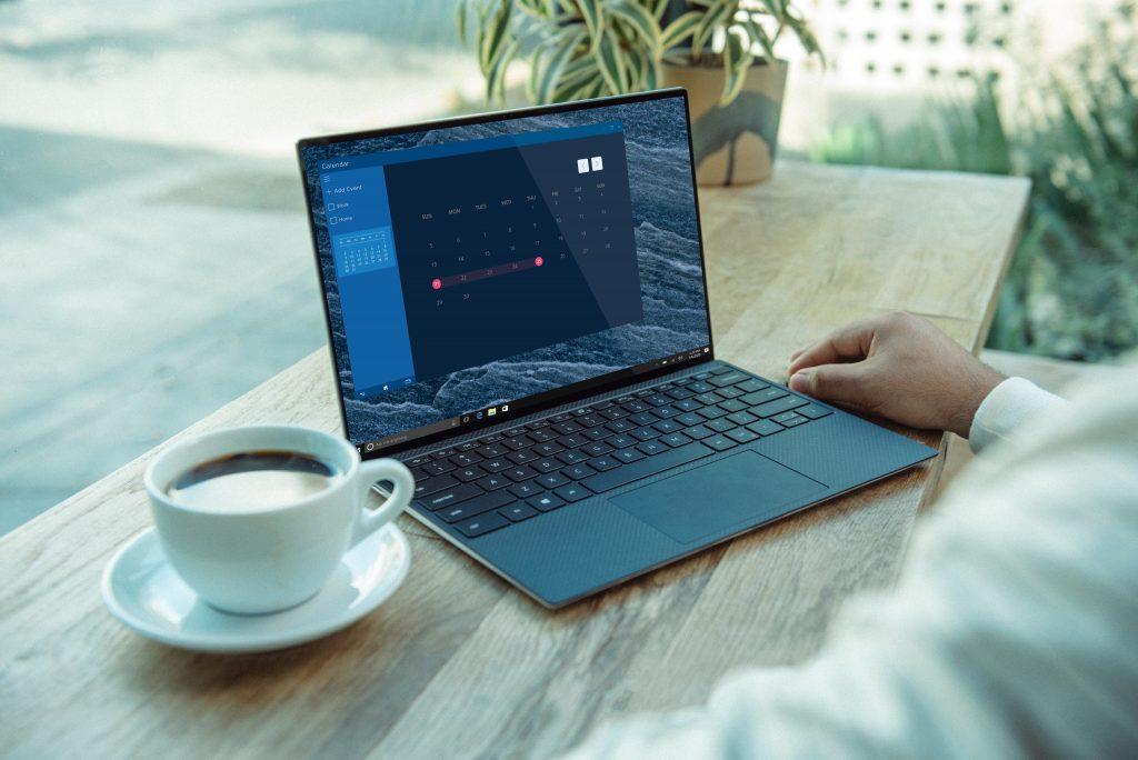 Imagem de um computador portátil.