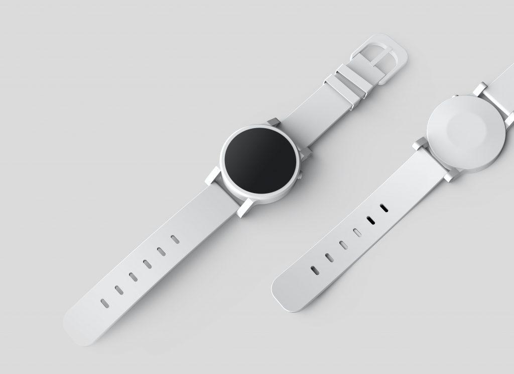 Imagem de um smartwatch.