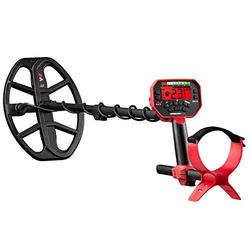Detector de metal Minelab Vanquish 540 com bobina dupla à prova d'água V12 30,48 cm x 22,86 cm