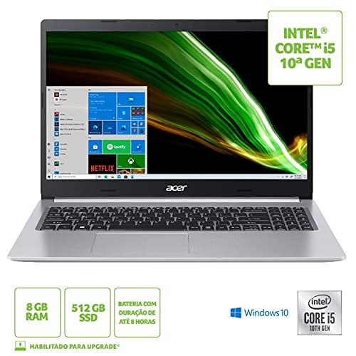 Notebook Acer Aspire 5 A515-55-50MZ Intel Core i5-1035G1 8GB 512GB SSD