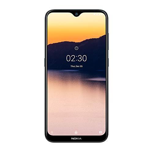 Smartphone Nokia 2.3 com tela de 6.2 polegadas, 32GB de armazenamento e 2GB de RAM, câmera traseira dupla de 13MP + 2MP e botão dedicado do Assistente do Google -Cinza - NK003