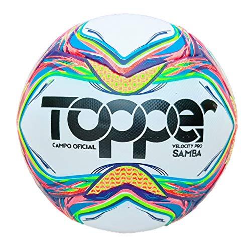 Bola de Futebol de Campo Oficial Topper Velocity Pro Samba 2020