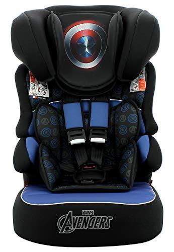 Cadeira para auto Beline Luxe Capitão América, Marvel, Azul