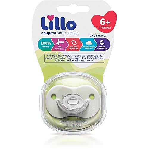 Chupeta Soft Calming 100% Silicone Simetrico Tam 2 - Lillo