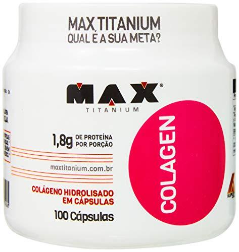 Colageno Hidrolisado 100 Capsulas - Max Titanium