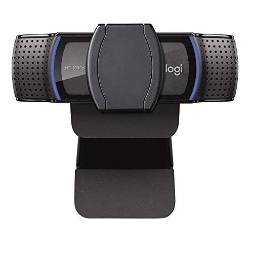 Webcam Full HD Logitech C920s com Microfone e Proteção de Privacidade para Gravações em 1080p Widescreen, Compatível com Logitech Capture