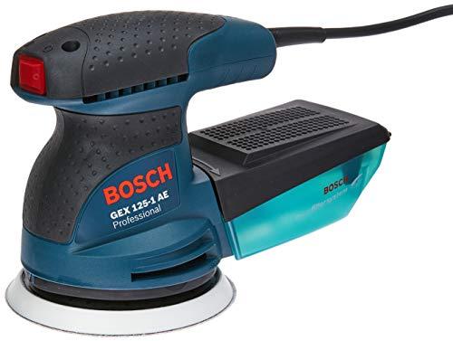 Lixadeira Roto Orbital Bosch GEX 125-1 AE 250W 127V com 1 Coletor de pó