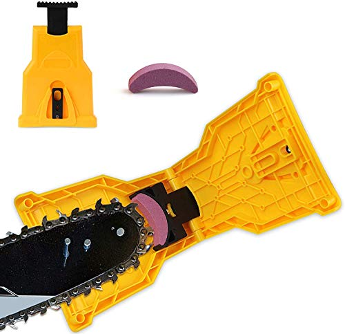 Bestmaple Afiador de motosserra universal para afiador de lâmina de afiar rápido Barra de ferramentas