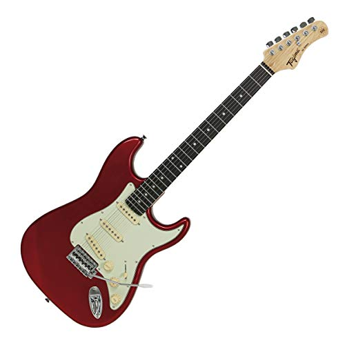 Guitarra elétrica TAGIMA - TG 500 CA DF MG, Candy Apple Dark Fingerboard Mint Green