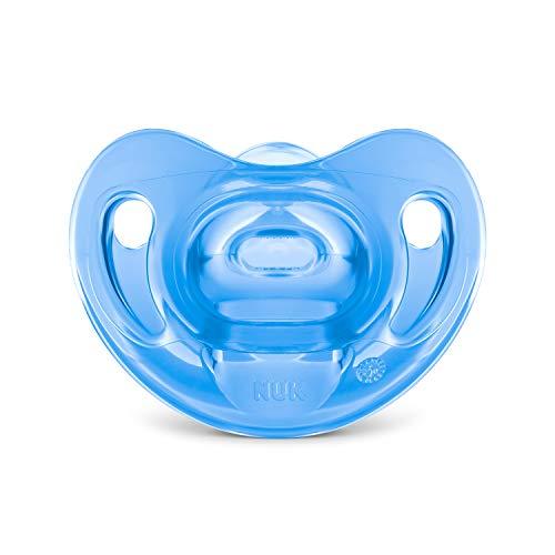 Chupeta Sensitive Soft 100% Silicone Boy S2 - NUK, Azul, Tam 2 (6-18 Meses)