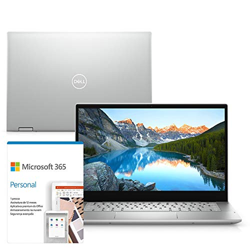 Kit Notebook 2 em 1 Dell Inspiron 5406-OS20SF 14