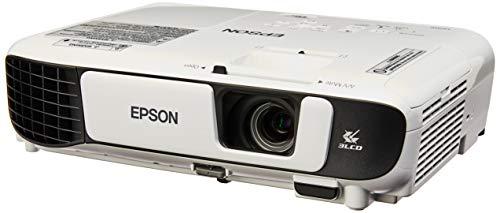Projetor Epson Powerlite S41+ 3300 Lumens, SVGA, HDMI, Branco, Bivolt