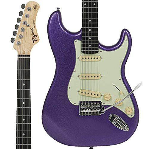 Guitarra elétrica TAGIMA - TG 500 MPP DF MG, Metallic Purple Dark Fingerboard Mint Green