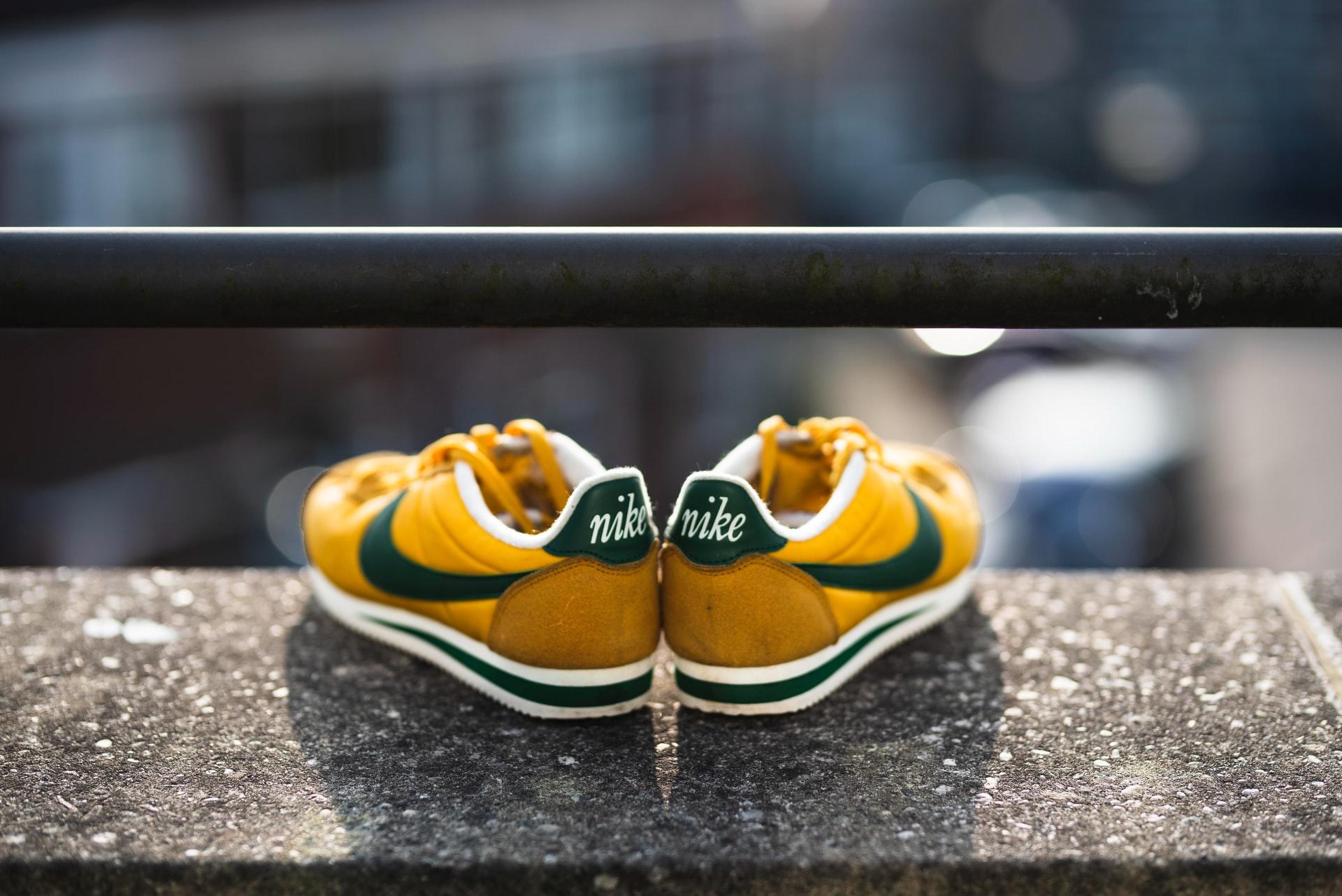 zapatillas nikes verdes