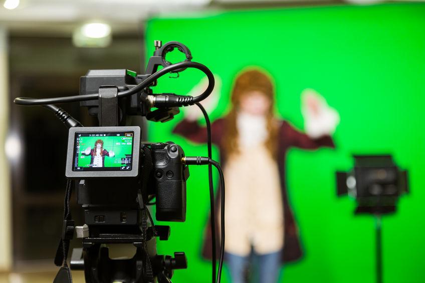 filmando videos