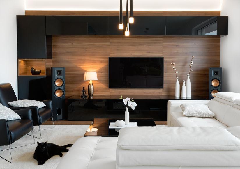 sala moderna con