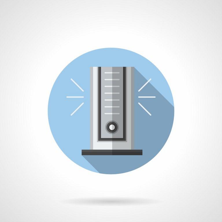 Vector de ventilador de torre