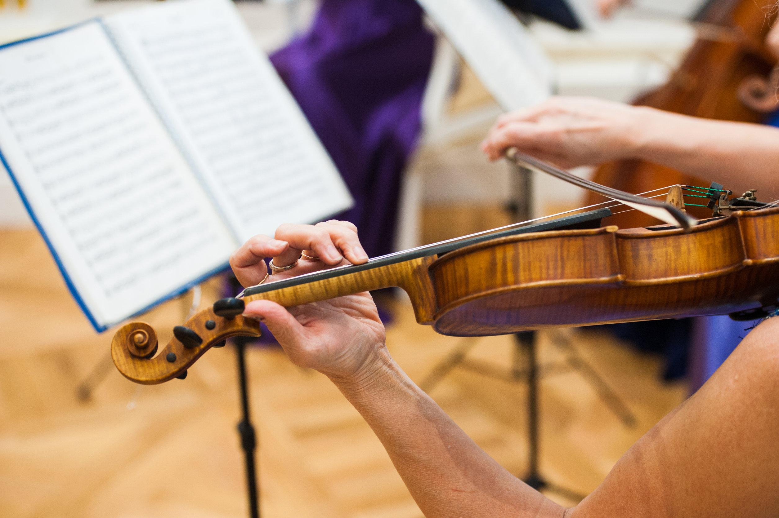 violin en concierto