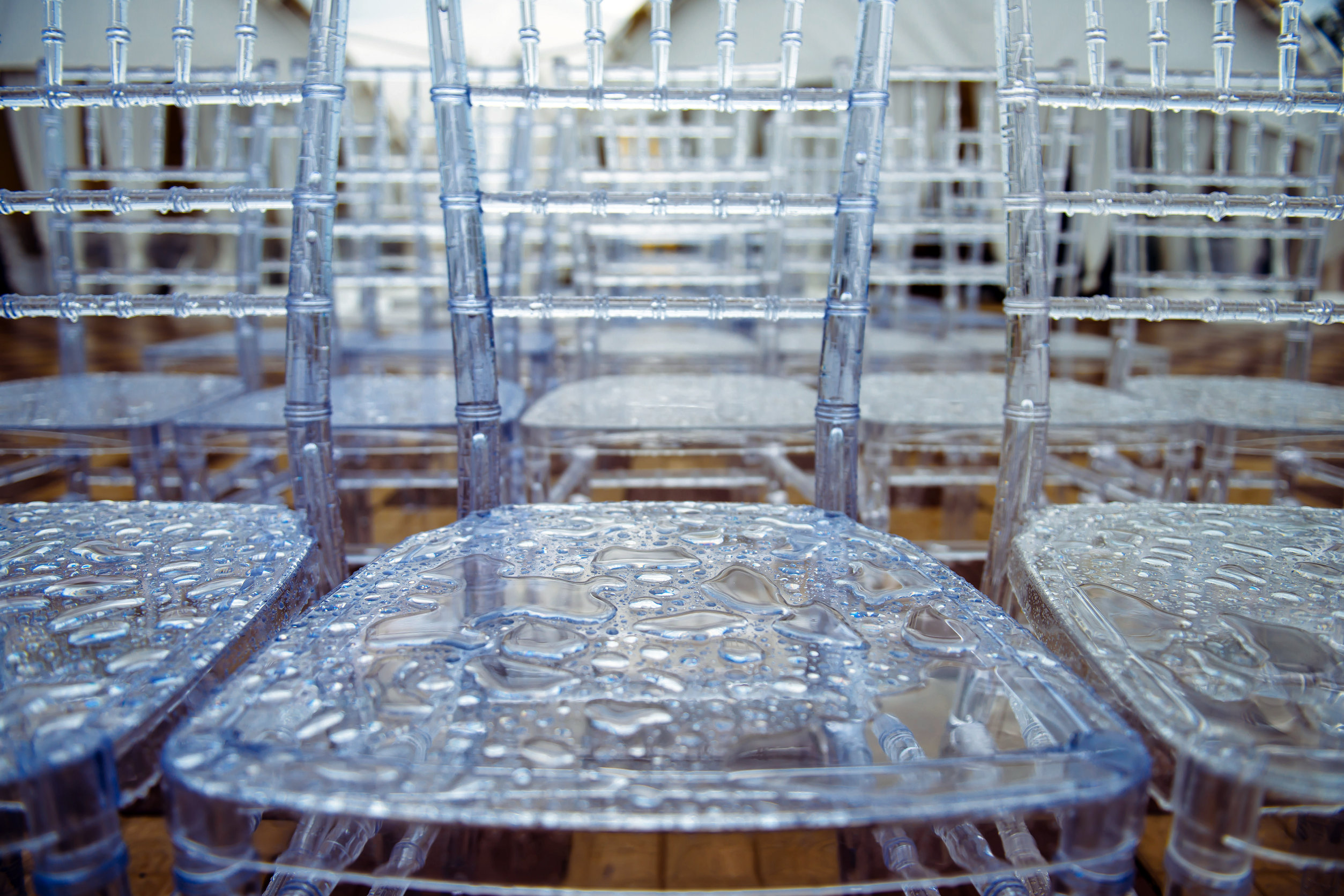 sillas de transparente