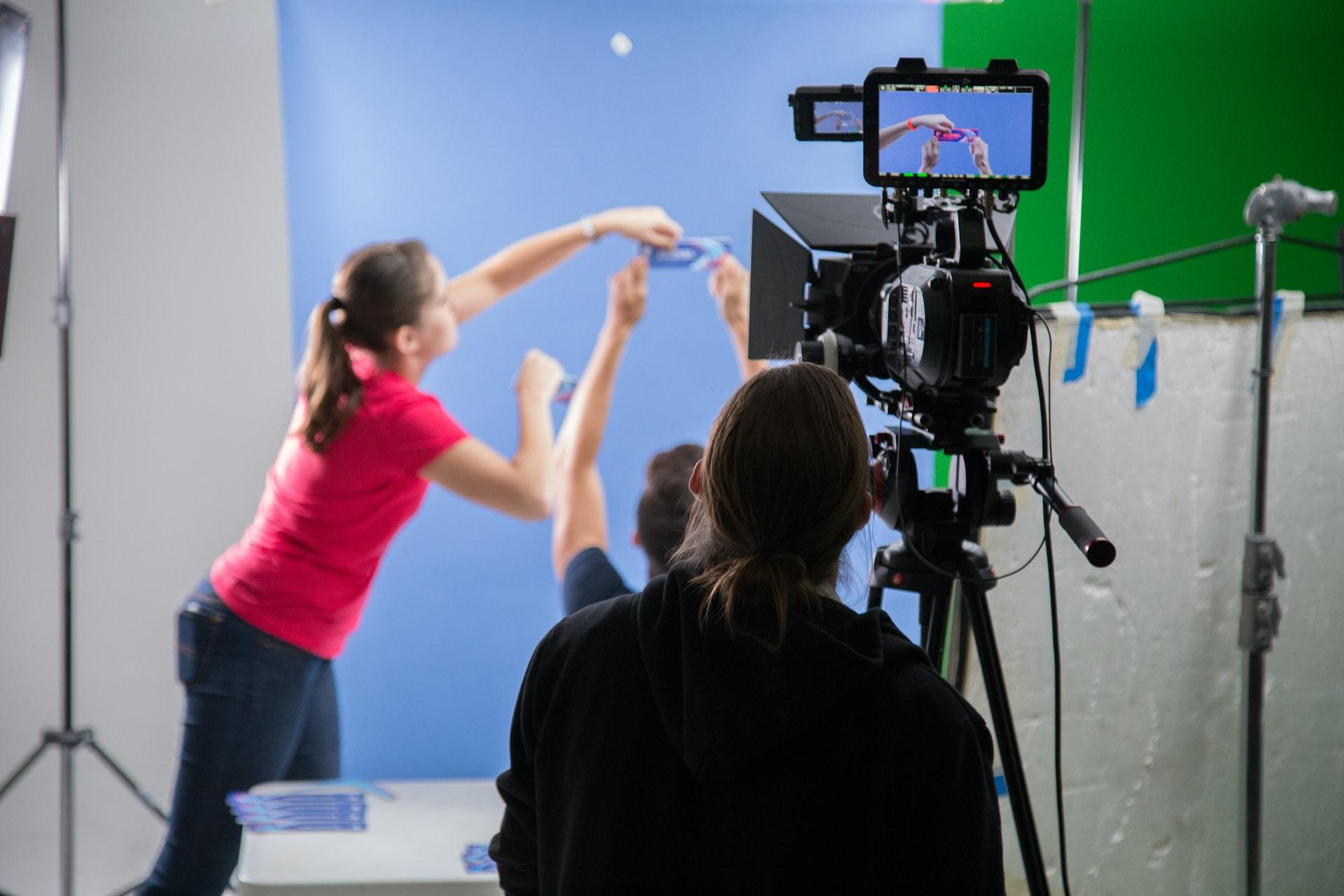 filmando efectos especiales