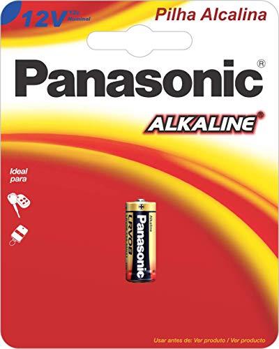Bateria Alcalina, Panasonic, LRV08-1B, Cinza