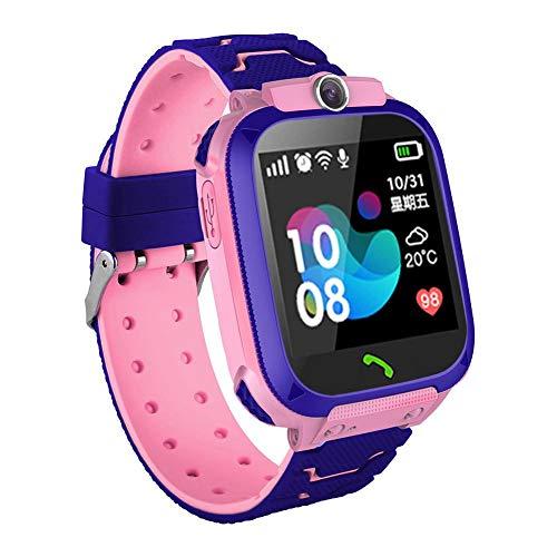 Relógio Smartwatch Infantil Q12 kids com rastreador - chat voz - sos - azul