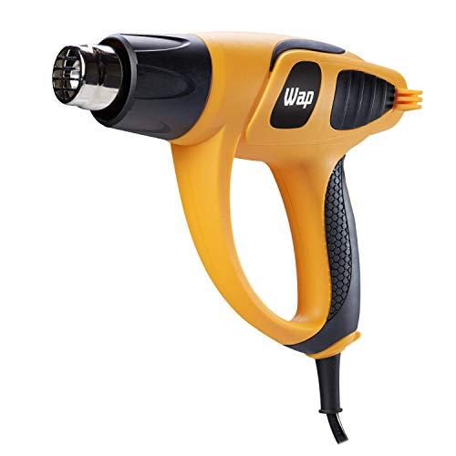 Soprador Térmico Profissional WAP EST 1800 1650W 127V 2 Níveis de Calor Trabalhos Profissionais e de Artesanato, Amarelo e Preto