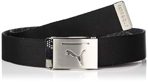 Puma - Cinto masculino com fivela reversível Golf 2019 (tamanho único), Puma Black