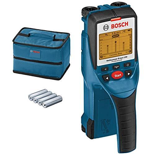 Detector e Scanner de parede 150mm D-TECT 150 Bosch