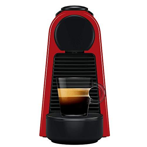 Nespresso Essenza Mini Cafeteira 110V, máquina de café Espresso compacta para casa, máquina de cápsula / cápsula elétrica automática (vermelha)