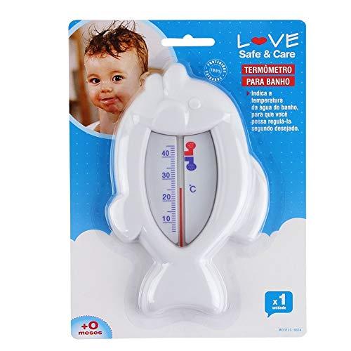 Termometro para Banheira, Love, Branco