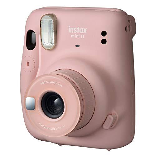 Câmera instantânea Fujifilm Instax Mini 11 Rosa + Filme Instax com 10 poses