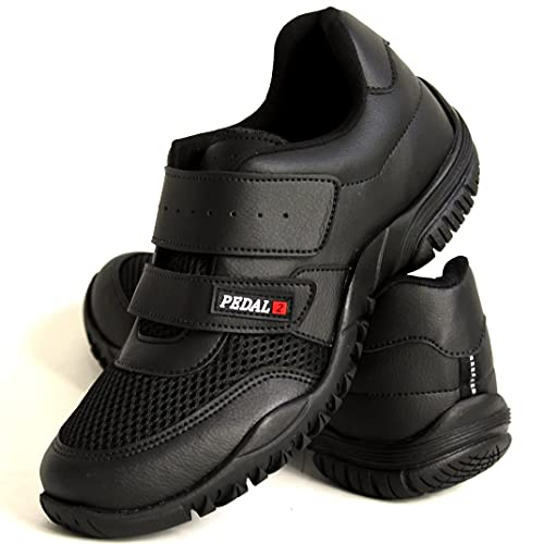 Tênis Sapatilhas Ciclismo Pedal2 Trilhas Baratas Unissex 33 ao 44 (43, Toda Preta)