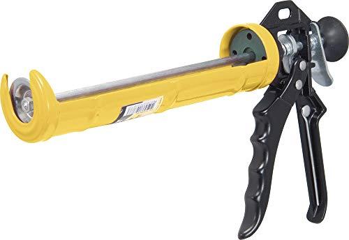 Aplicador Para Silicone Amarelo E Preto, Vonder Vdo136 Vonder