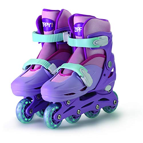Patins In Line Ajust Rosa-34-37 Mimo Style Rosa