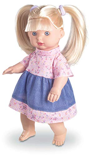Boneca Little Jeans Loira 34 cm Milk