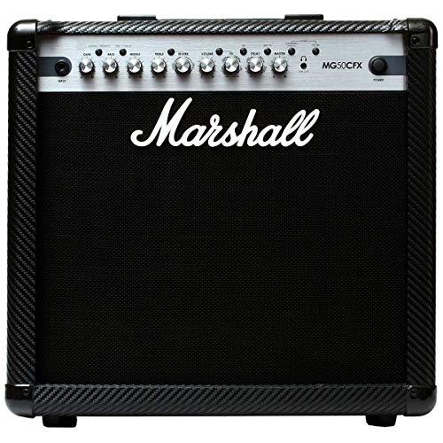 Amplificador Guitarra Marshall Carbon Fiber MG50CFX