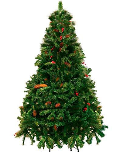 Árvore de Natal Decorada Alpina 180 Cm