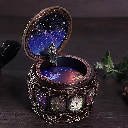 Weiyirot Linda caixa musical, caixa de música perfeita para mãe e meninas para filha (Taurus)