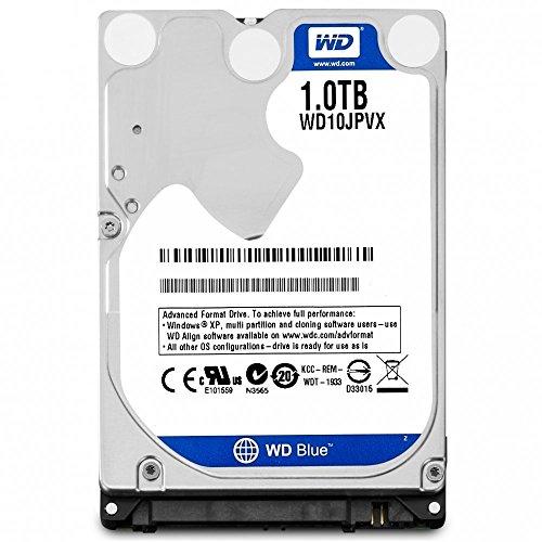 Notebook WD 2016 New Blue 1TB 2,5 polegadas para laptop interno SATA 6 Gb/s disco rígido 9,5 mm de altura 5400RPM modelo WD10JPVX