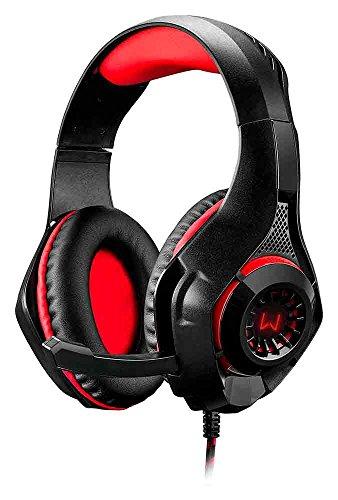 Fone De Ouvido Headset Gamer Com Led Warrior - Ph219