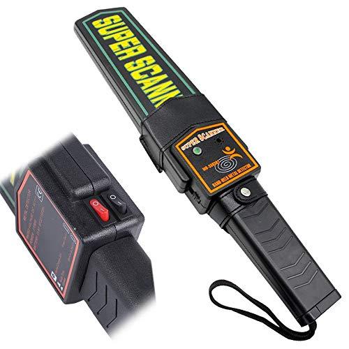 Detector De Metal Portátil Profissional Alta Sensibilidade 617918 Lee Tools