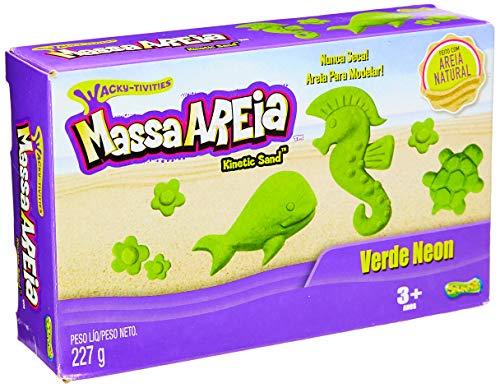 Massa Areia, Neon 227 G Sunny Brinquedos Multicor
