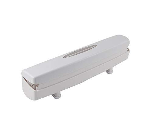 CONNECTWIDE Wraptastic Porta-envelopes/cortador para papel alumínio, plástico, papel encerado, use com qualquer envoltório – Funciona com papel de cera, envoltório plástico, alumínio e mais. (1 peça)