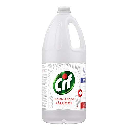 Higienizador + Álcool Cif Profissional Original Sem Perfume 2L