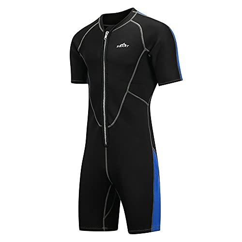 Giantree Wetsuit – Traje de mergulho feminino e masculino de neoprene, roupa de banho térmica de manga curta para adultos, trajes de mergulho para mergulho, surfe, natação e canoagem