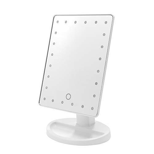Espelho de Led para Maquiagem Portatil