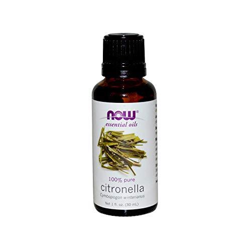 Óleo Essencial de Citronella (30ml) 100% Puro Now Foods