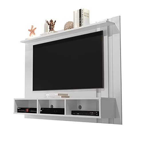 Painel para TV 48 Polegadas Nice - Branco - Mania de Móveis